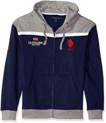 Polo Assn U.S Mens Standard Tucker Jacket