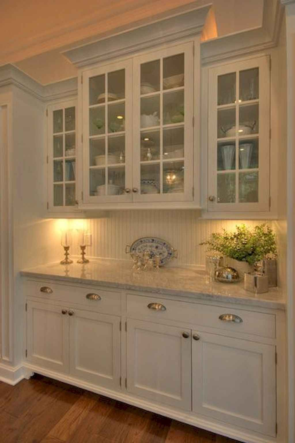 Best 100 white kitchen cabinets decor ideas for farmhouse style design (28 images