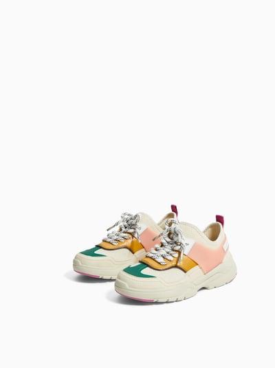 c9c6225c7a ZARA - Unisex - Multicolored sneakers - Multicolor - 12½ (7.4 inches ...