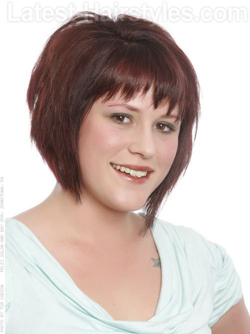 short hairstyles with bangs | 21 Hairstyles For Thick Hair: Perfect ...