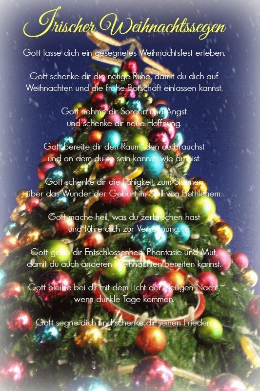 irischer weihnachtssegen ich
