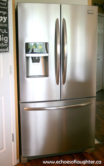 Organizing My Kitchen With The Frigidaire Gallery® French Door Refrigerator