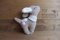 Photo of Nähanweisungen Baby – E-Book Deer Emmi – Nähanweisungen und Muster – a d …