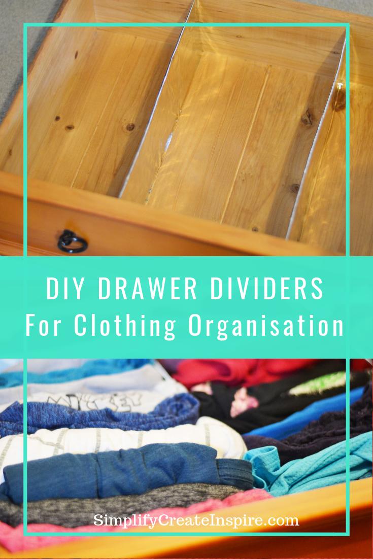 DIY Custom Drawer Dividers in Under 15 Minutes   Diy ...