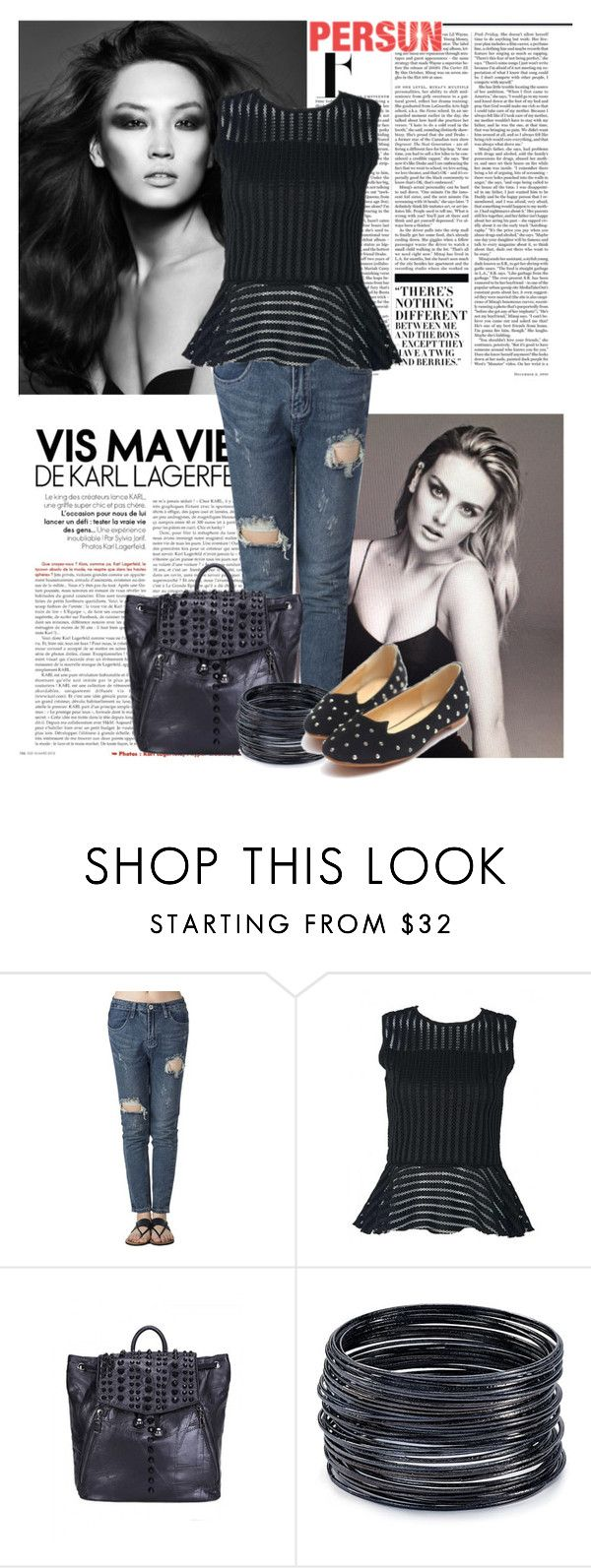 """""""Persunmall.com 9"""" by laurafox27 ❤ liked on Polyvore featuring Nicki Minaj and ABS by Allen Schwartz"""