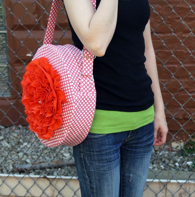 Tutorial: The Red Poppy Bag – Sew Sweetness  – Bolsa de moda