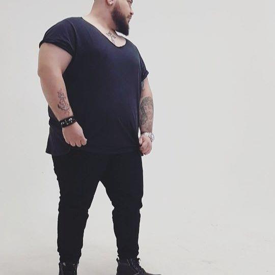 Profession : Plus Size Male Model Mannequin homme grande