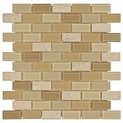 Gela Brick Glass Mosaic