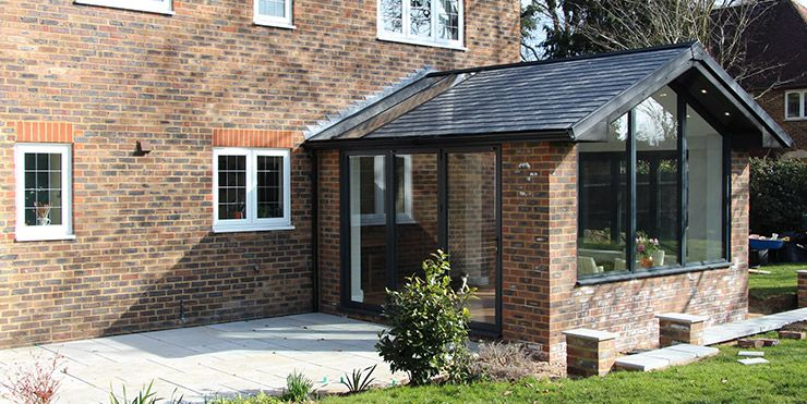 Custom Glaze Double Glazing Windows Doors And Conservatories In Milton Keynes In 2020 Warm Roof Garden Room Extensions Small House Extensions