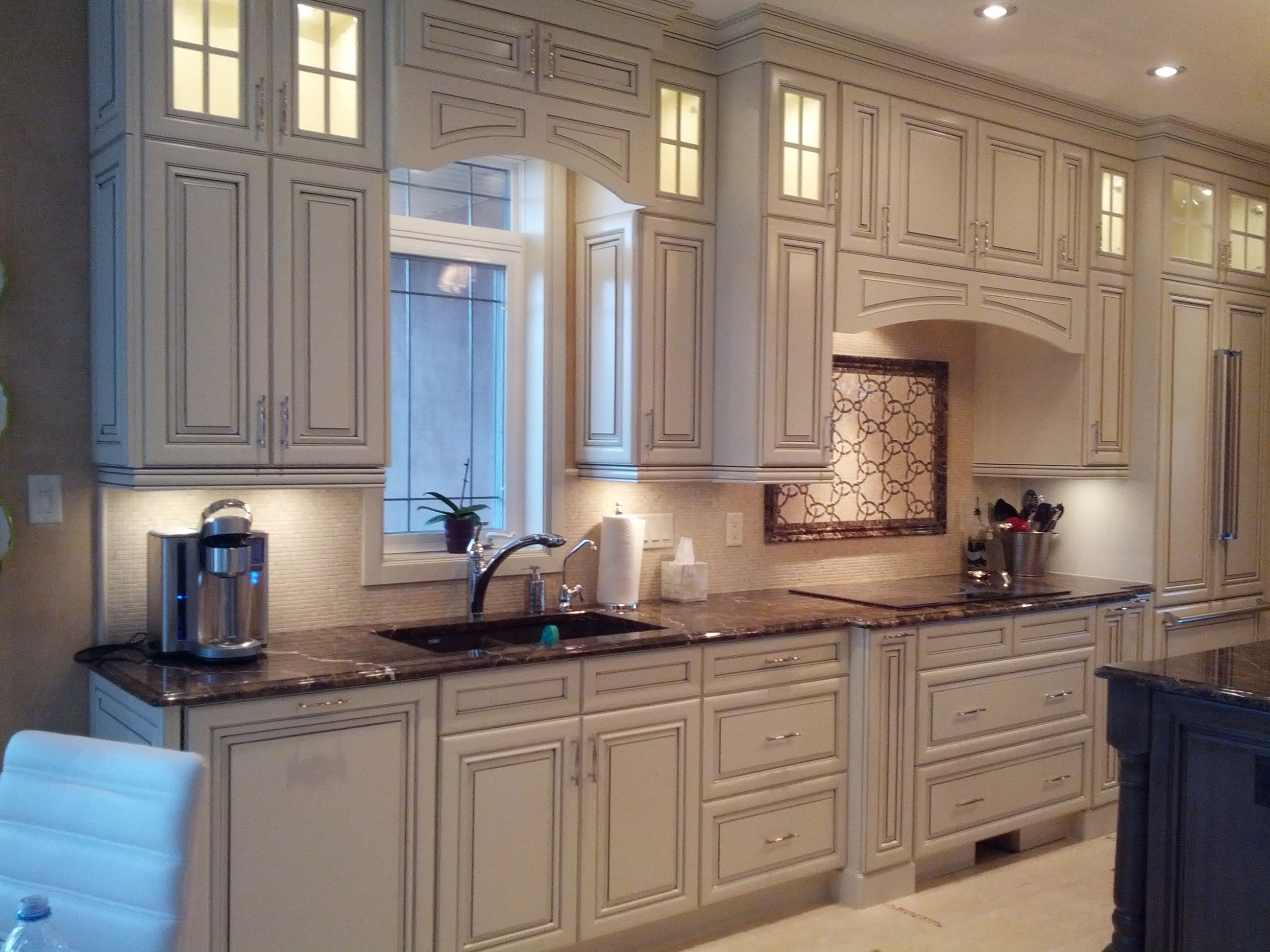 Cabinetry: Kitchen Craft Door style: Paxson Color ...
