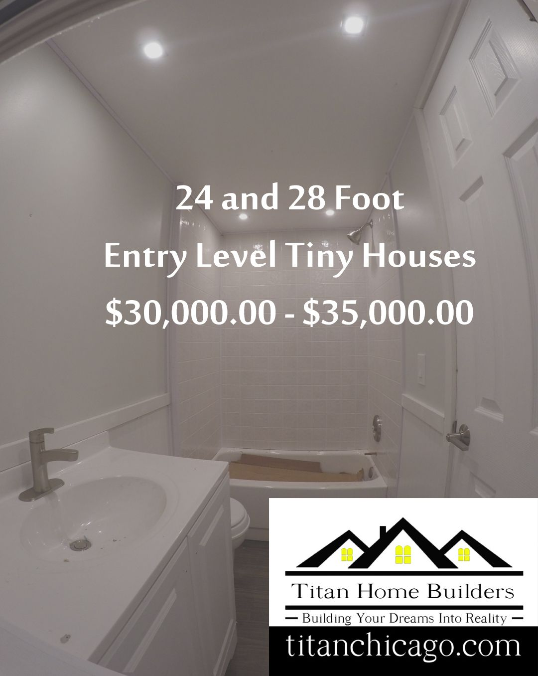 28 Foot Entry Level Tiny Houses For 30 000 00 35 000