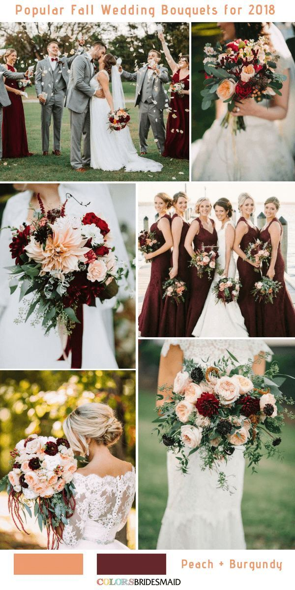 10 Stunning Fall Wedding Bouquets to Match Your Big Day #fallweddingideas
