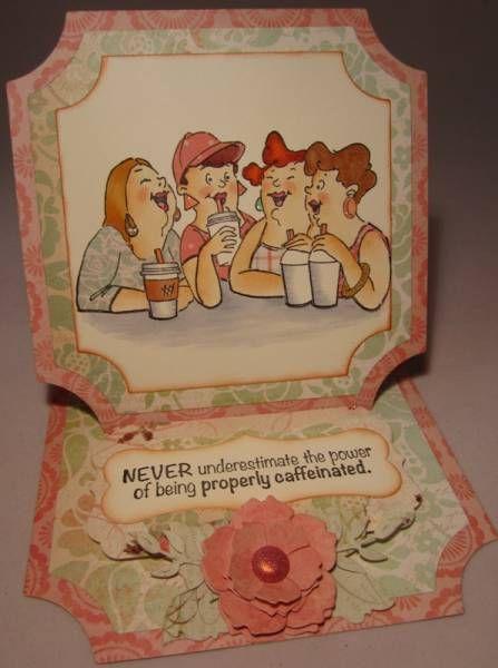 Girlfriend Blend card by Jo Ann Sinclair