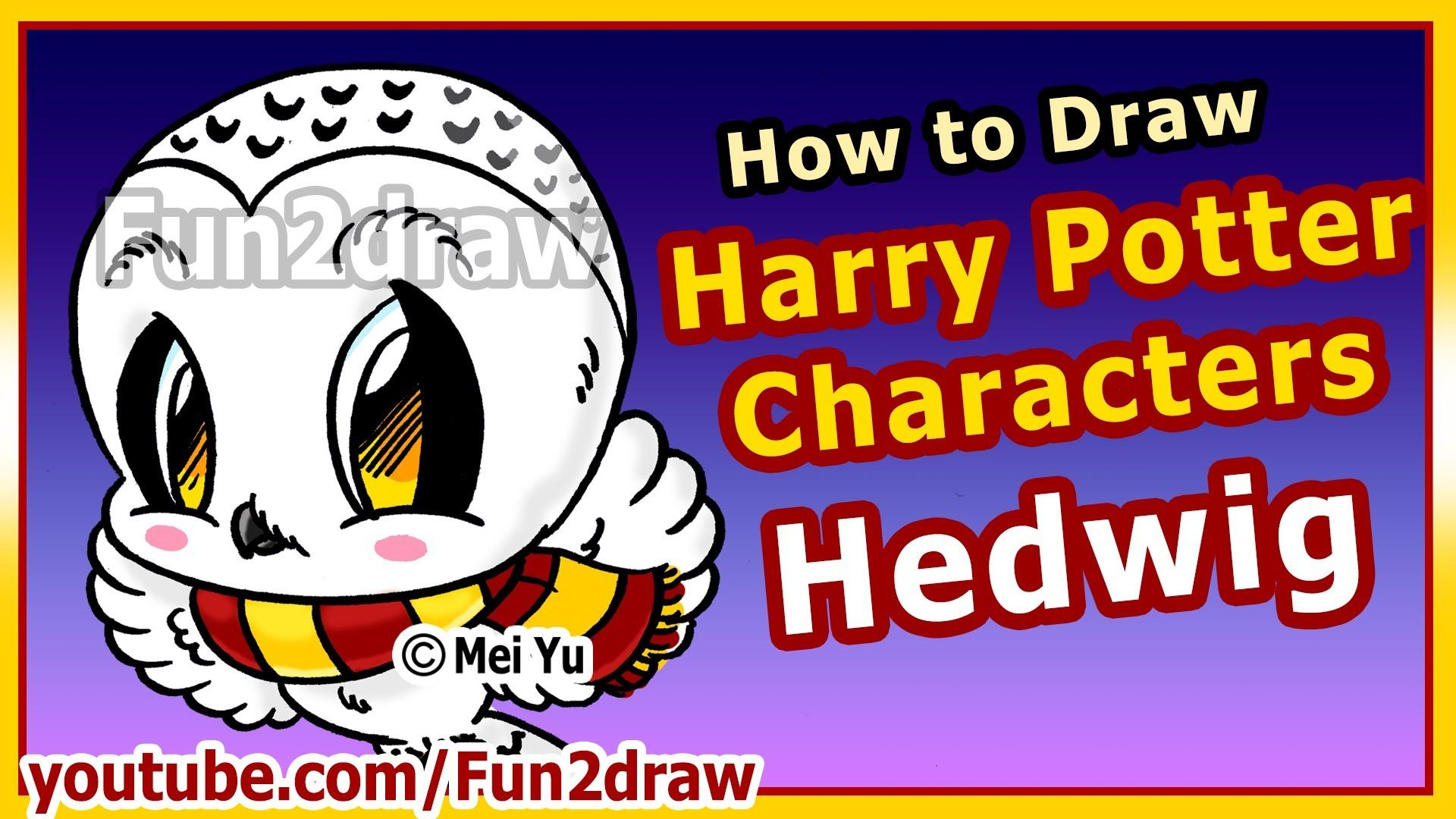 step by step how to draw harry potter c haracters