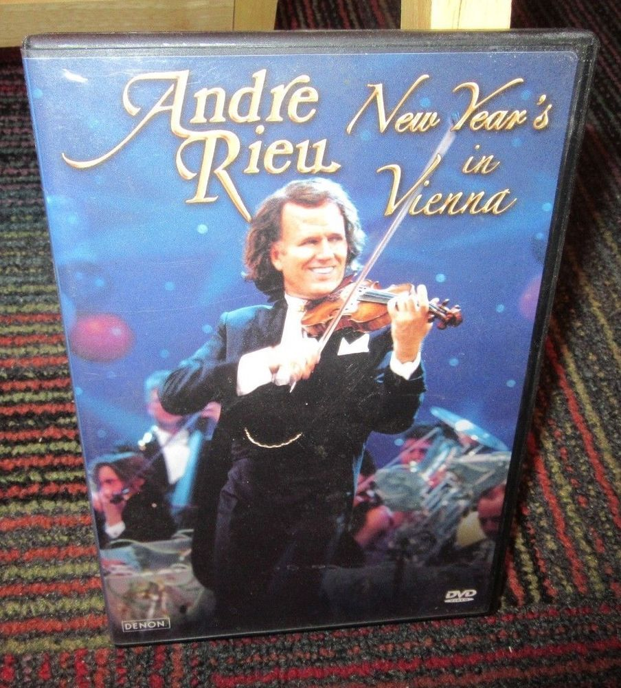 ANDRE RIEU NEW YEAR'S IN VIENNA DVD, LIVE IN CONCERT, 19