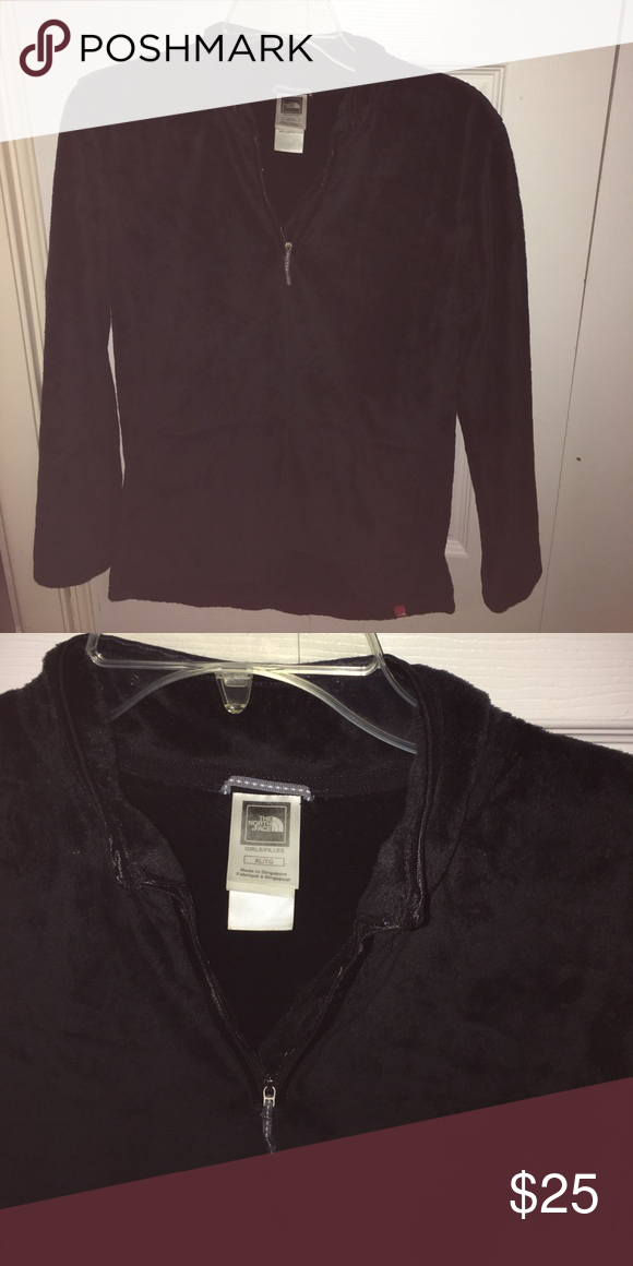 Pullover Youth Xl Black Face North Size Pullover qTAvw0