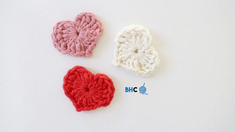 Magic Crochet Hearts