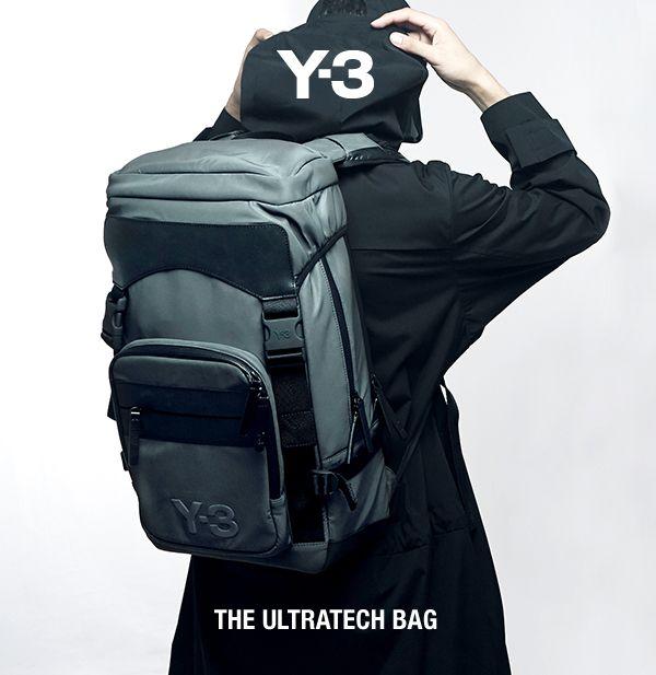 adidas Y-3 Ultratech Bag   Menswear  adidas Y-3   Pinterest   Adidas ... 8408b30962