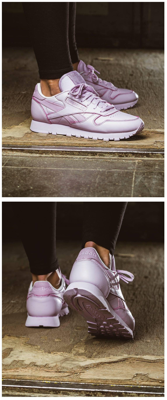 Reebok Classic Leather 'Tonal Pastel': Purple | Schuhe