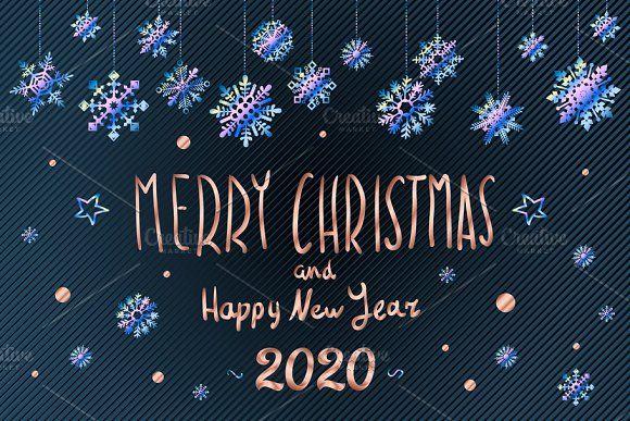 Meery Christmas 2020 Merry Christmas Happy New Year 2020 | Nieuwjaar, Kerst