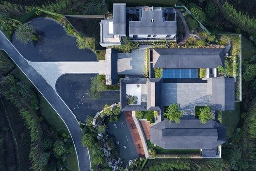 Best Gallery Of Deqing Living House Lacime Architects 6 400 x 300
