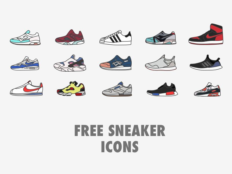Free Sneaker Icons