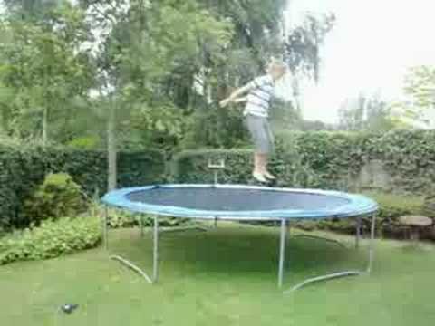 basic trampoline tricks outdoor