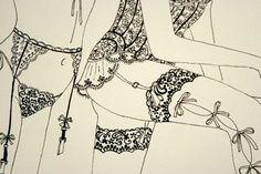 desenho lingerie