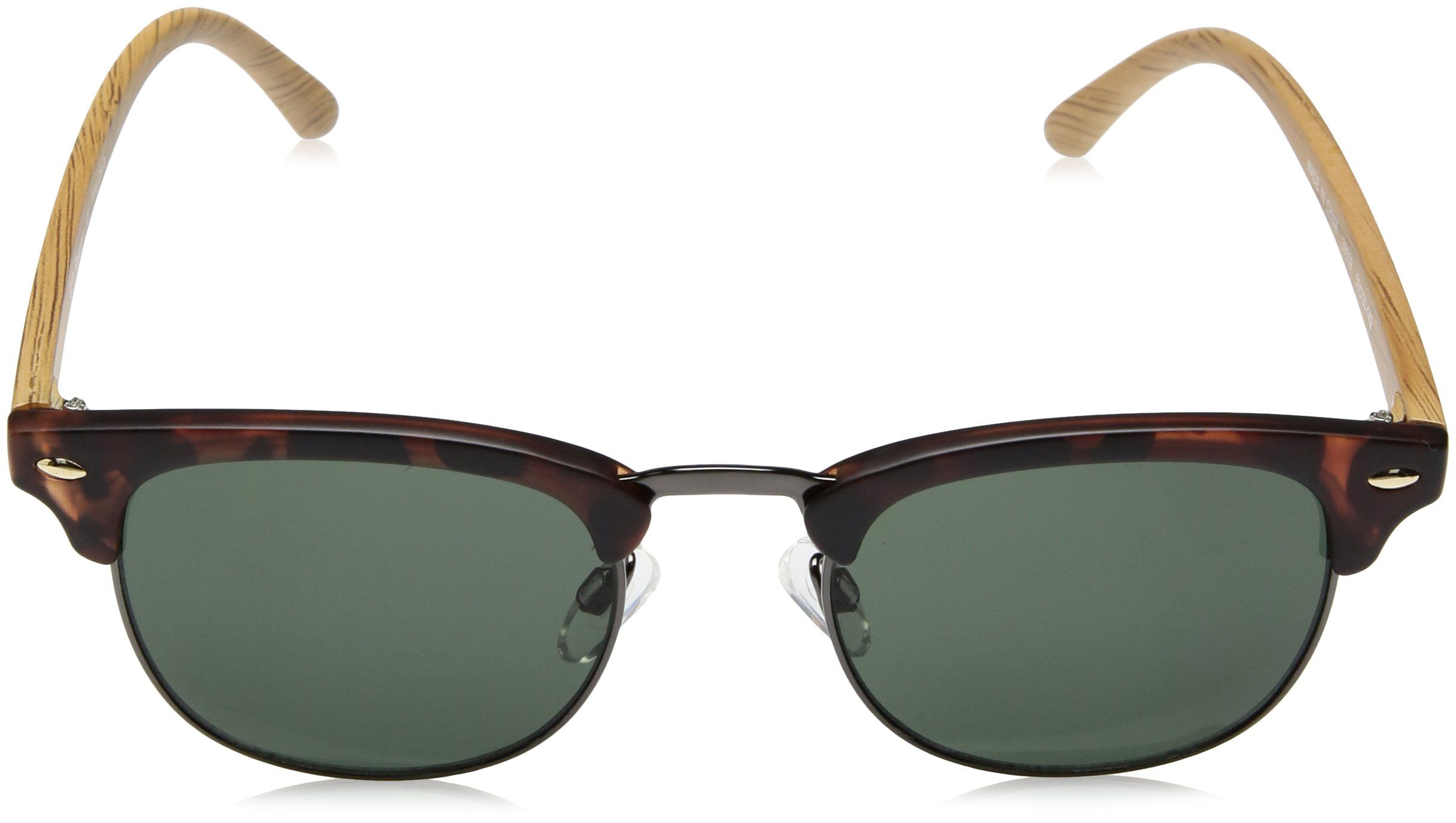 dfb7e1f2845 A.J. Morgan Kent Square Sunglasses Matte Tortoise 50 mm    Click on the  image for