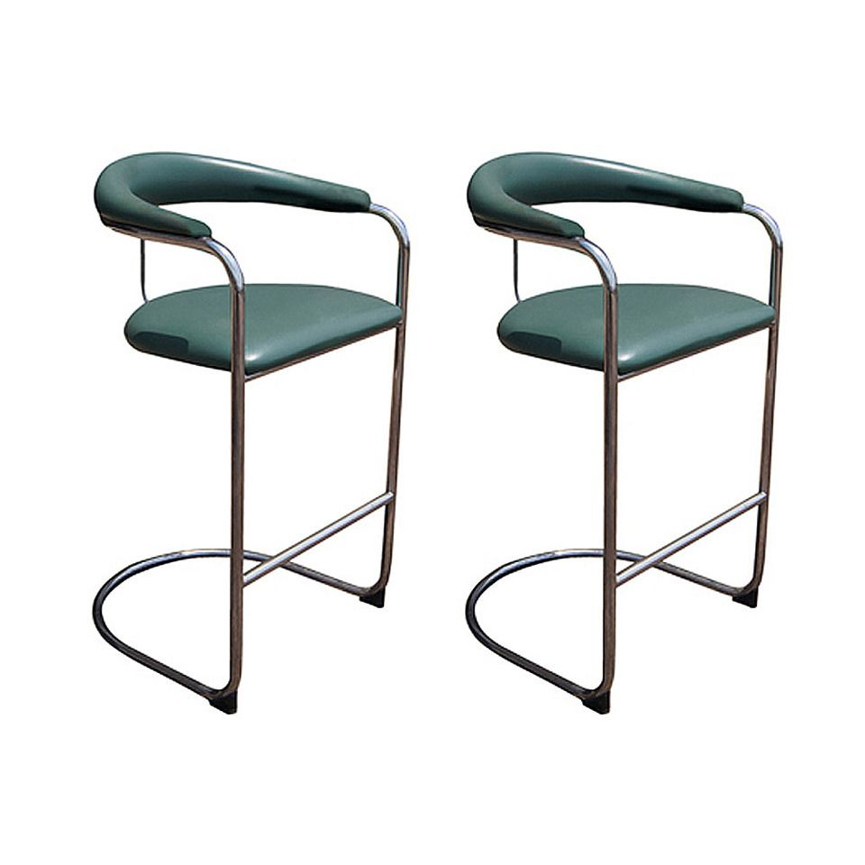 A Pair Of Anton Lorenz For Thonet Counter Bars Stools Thonet Bar Stool G35