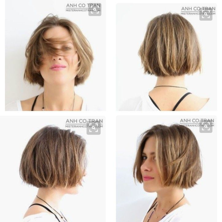 Anh Co Tran Short Bob Growing Out Short Hair Styles Short Hair Styles Hair Styles