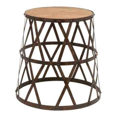 $112.95 Banjar Accent Stool from the Shabby Nest event at Joss and Main!