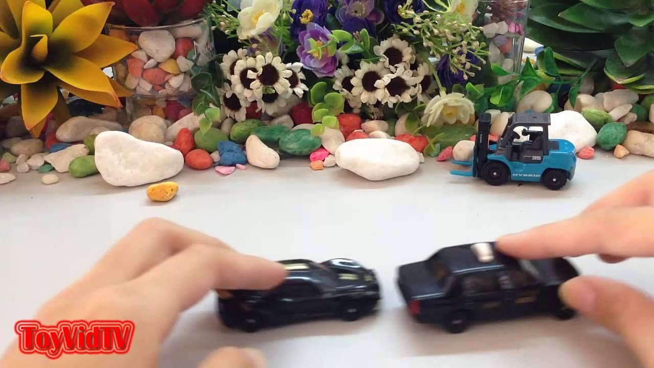 Toyota Crown Comfort Taxi Toy Car Racing for Children | Toy Cars Collect...