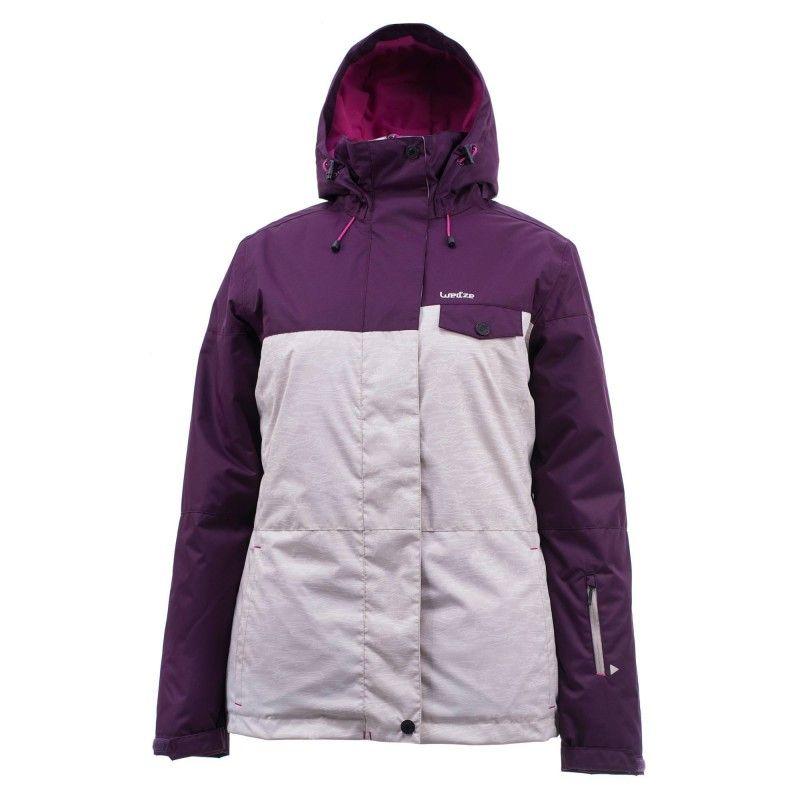 af170cf7d2f91 Snowboard Abbigliamento donna - Giacca donna 100 beige WED ZE - Parte alta