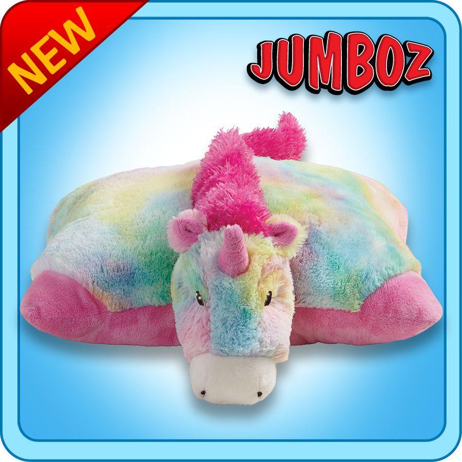 30 Jumboz Magical Unicorn Pillow Pet Unicorn Pillow Pet Animal Pillows Plush Stuffed Animals