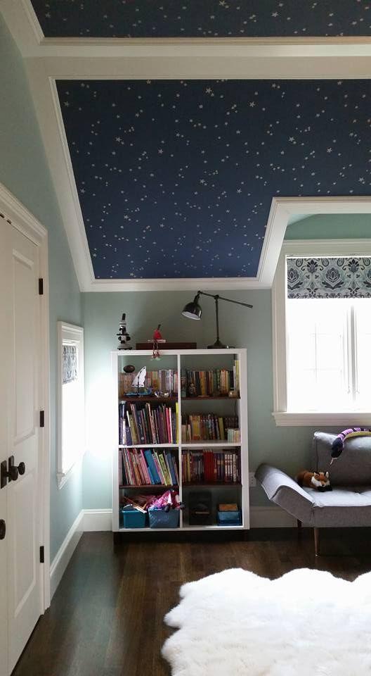 Fantasievoller Sternenhimmel Tapete Stars von Cole  Son #britisch