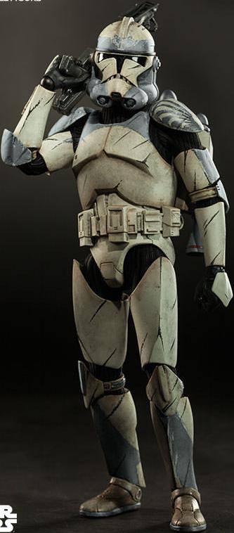 Star Wars Clone Trooper Wolfpack 104th Battalion 1 6th Scale Action Figure Star Wars Clone Wars Clone Trooper Star Wars