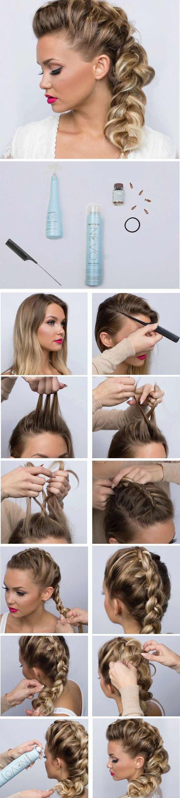 The perfect high bun page cabelos pinterest chignon updo