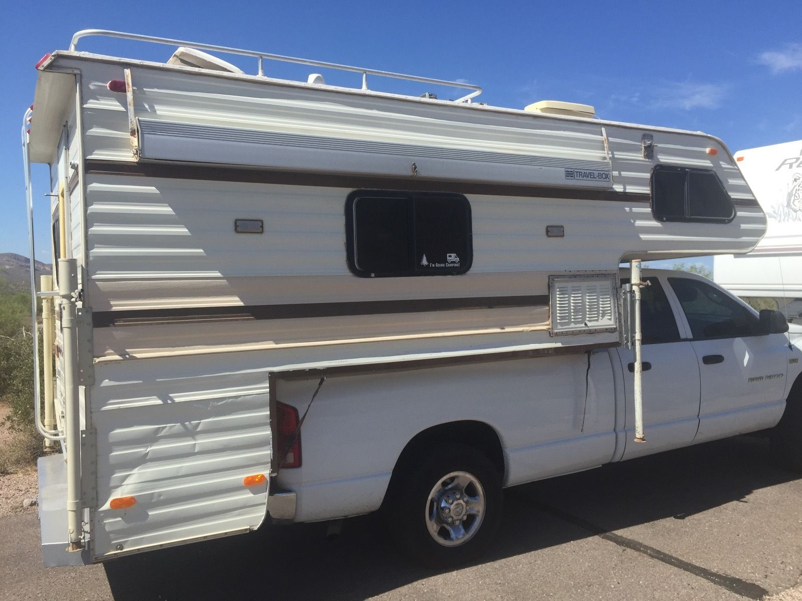 1981 Lance Slide in Truck Camper (With images) Slide in