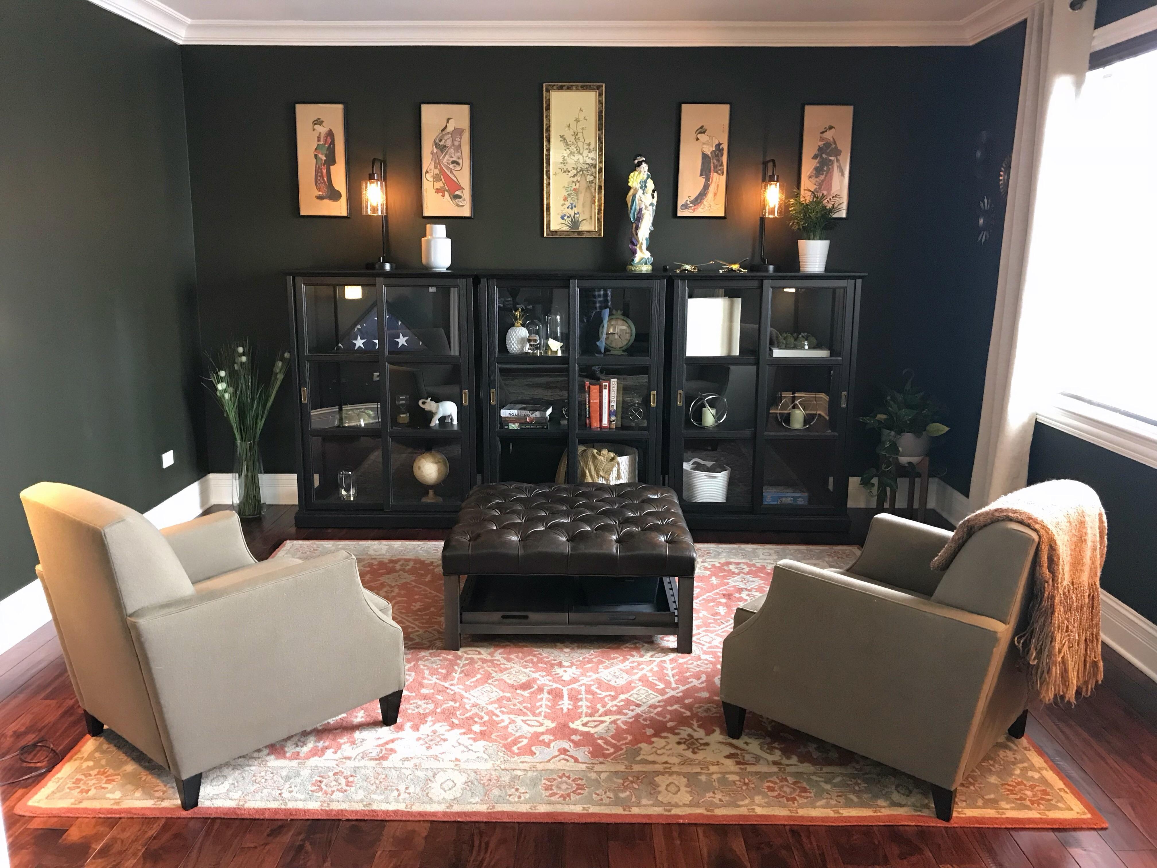 By Reddit User Jamieson22 I Love Those Display Cases Front Room Home Room Living room ideas reddit