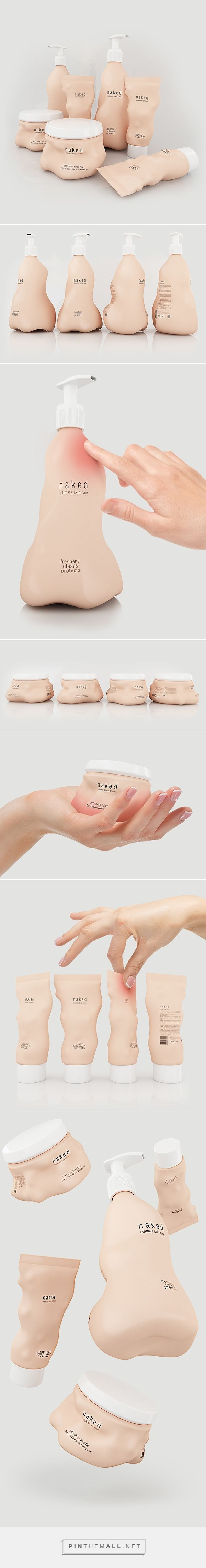 Intimate Care Products Package Concept designed by Stas Neretin