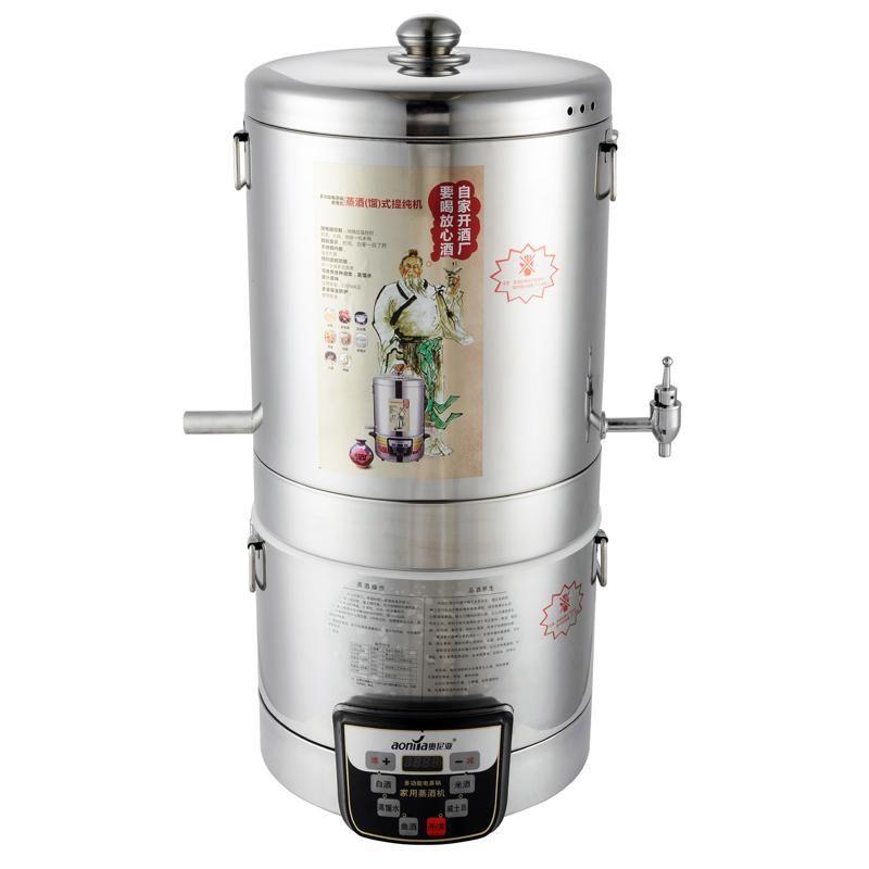 220V 10000mL Alcohol Distiller Moonshine Ethanol Copper ...