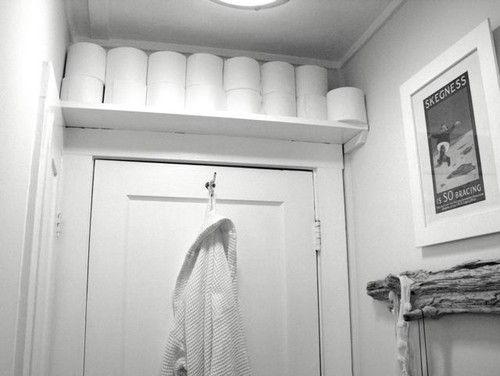shelves over doors