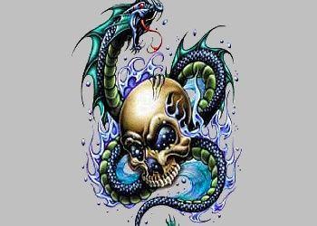 3d Skull Wallpaper Skull Wallpaper Download The Free Serpent Water Skull Wallpaper Skull Tattoo Design Skull Tattoo Tattoo Designs