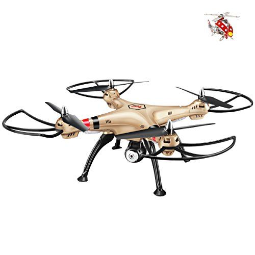 Syma X8hc With 2mp Hd Camera 4ch 6axis Fixed High Hover Headless