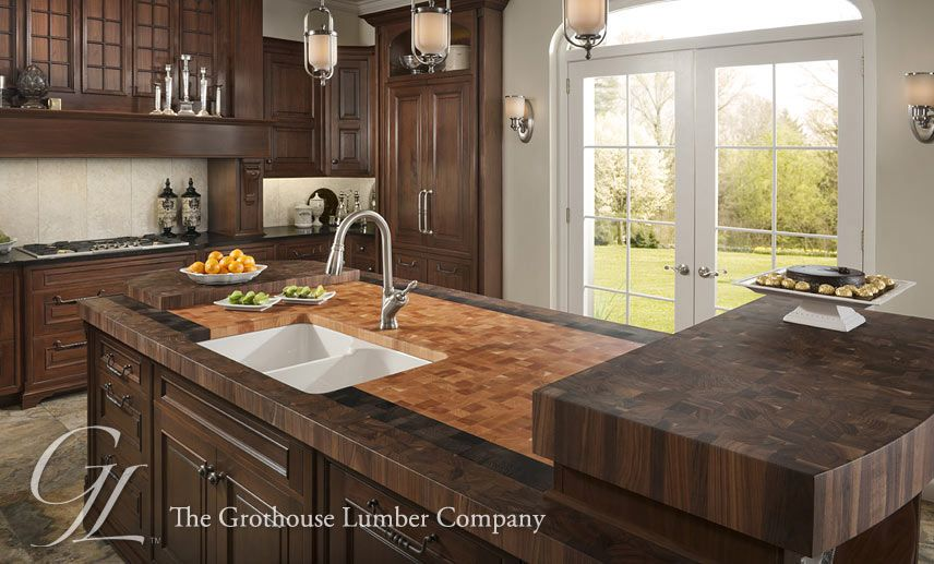 Butcher Block Countertops  Butcher Block Kitchen Island Top Best Butcher Block Kitchen Island Design Inspiration