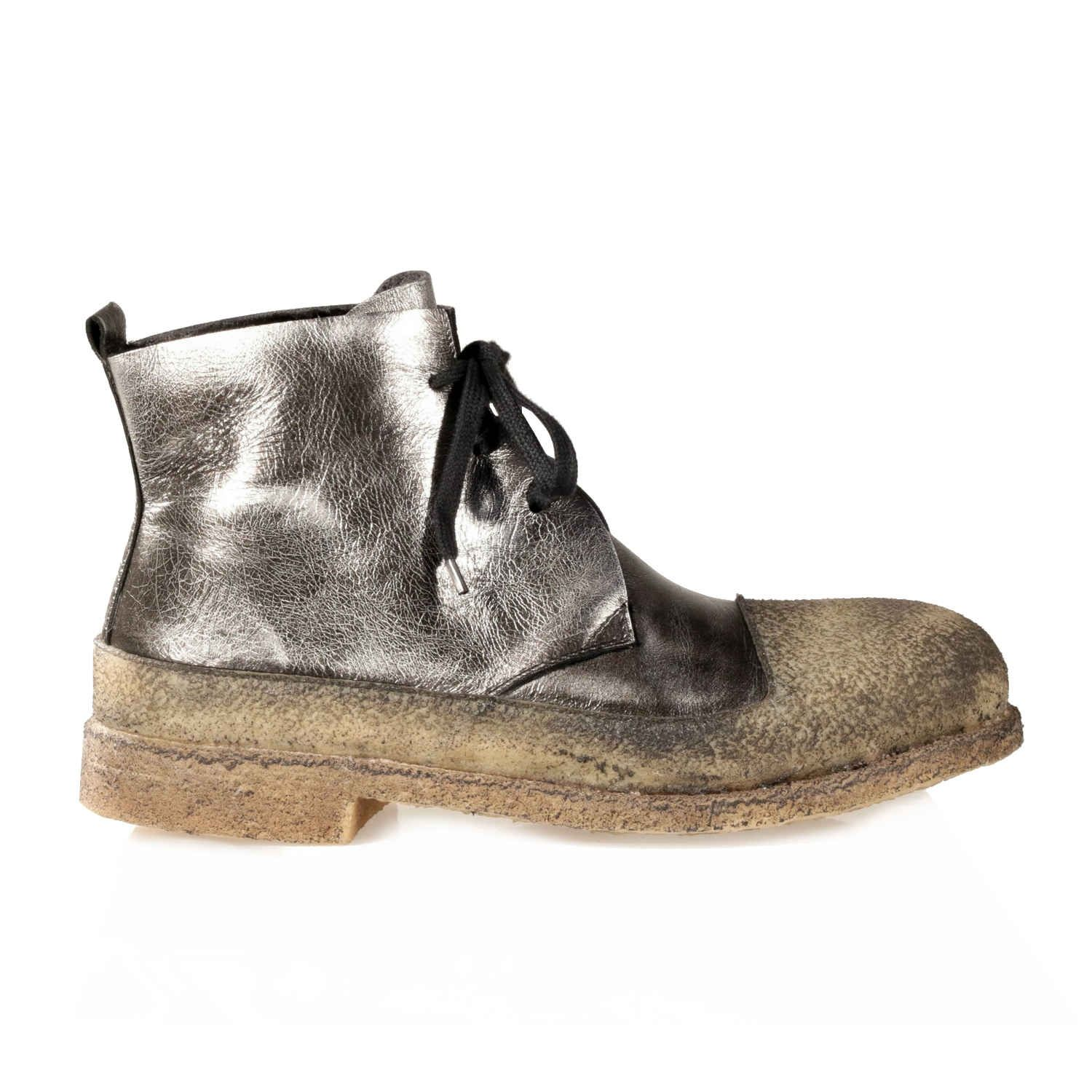 Metallic waterpwoof winter boots with fur lining for women Rocco P FW