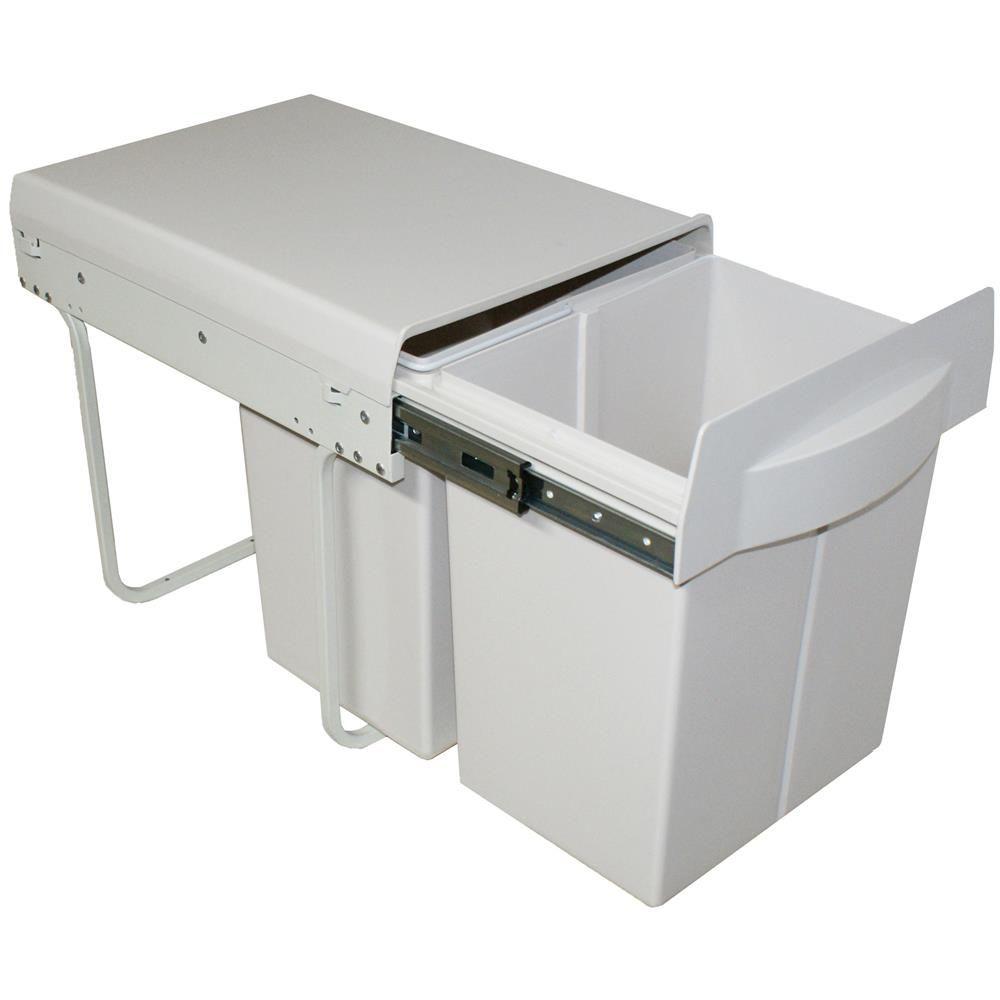 Poubelle De Cuisine Encastrable X Litres CACPO - Poubelle meuble de cuisine pour idees de deco de cuisine