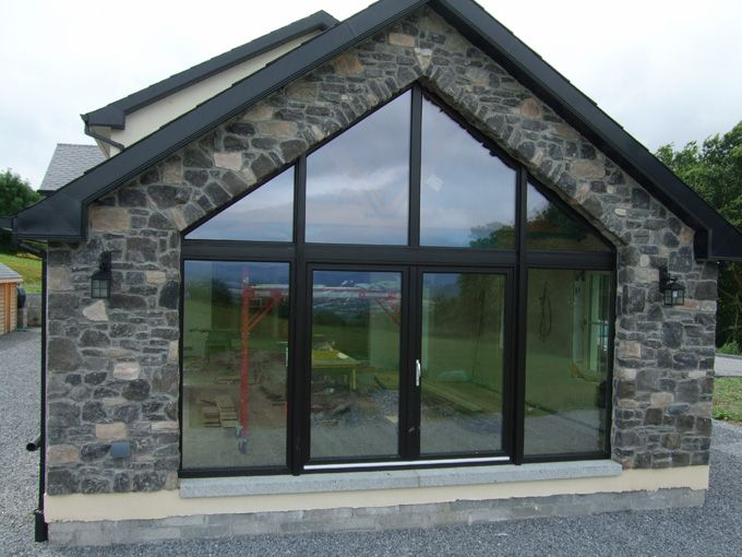 Stone facing and stone cladding ireland century stone for Stone faced houses