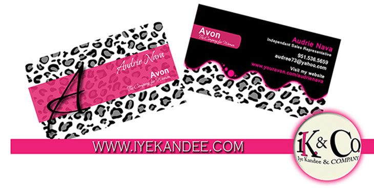 Avon business cards samples glitter alba pinterest avon business cards samples reheart Choice Image